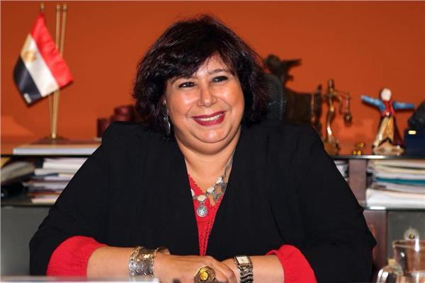 وزيرة الثقافة د. إيناس عبد الدايم