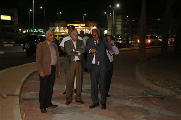 «فودة» يتفقد تطوير منطقة وطنية ودلتا بشرم الشيخ