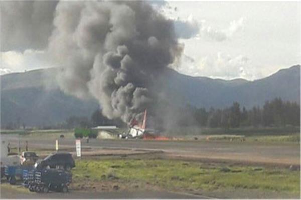هافانا - تحطم طائرة كوبية  بعد اقلاعها بدقائق