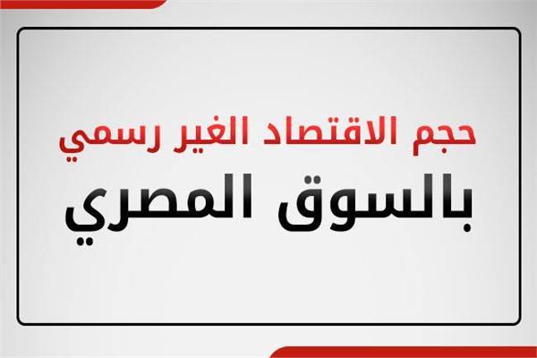 حجم الاقتصاد غير الرسمي بالسوق المصرية