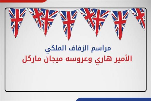 إنفوجراف  تعرف على مراسم الزفاف الملكي البريطاني