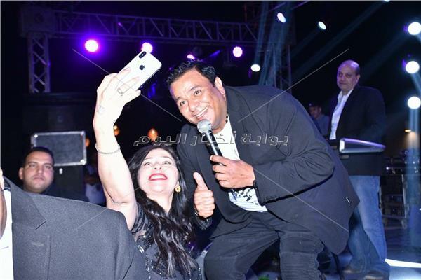 محمد فؤاد خلال الحفل