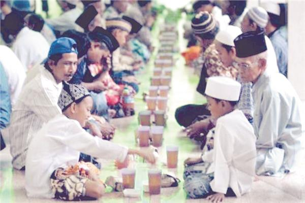 إندونيسيا فى  رمضان