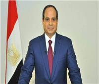 الرئيس عبدالفتاح السيسي مع قادة القوات المسلحة