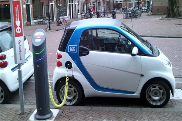 السيارات الكهربية بهولندا- صورة أرشيفية