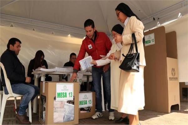 بدء التصويت في الانتخابات الرئاسية بكولومبيا