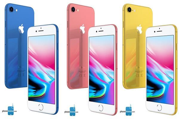 ألوان هواتف أيفون الجديدة