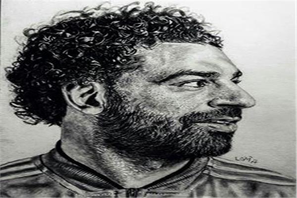 بورترية محمد صلاح