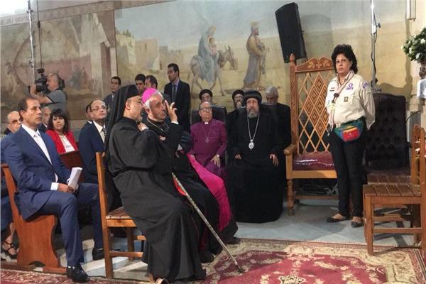 احتفالية الكنيسة الكاثوليكية بالمطرية بذكري دخول العائلة المقدسة لمصر