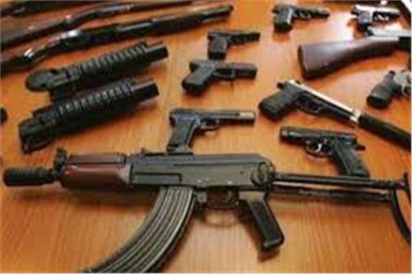 «الأمن العام» يضبط 59 متهمًا بحوزتهم 62 قطعة سلاح