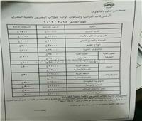 مصروفات جامعة مصر