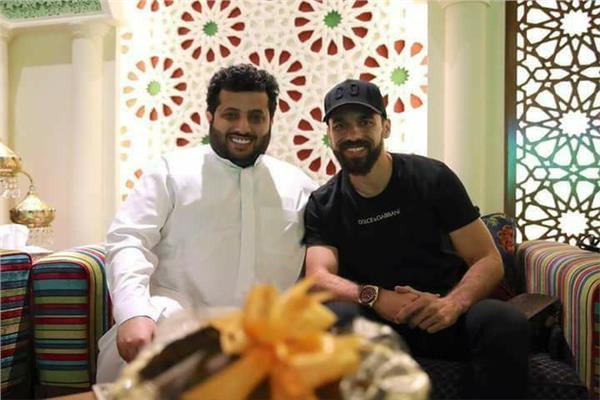 تركي آل الشيخ وعبدالله السعيد