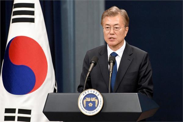 رئيس كوريا الجنوبية مون جيه - إن