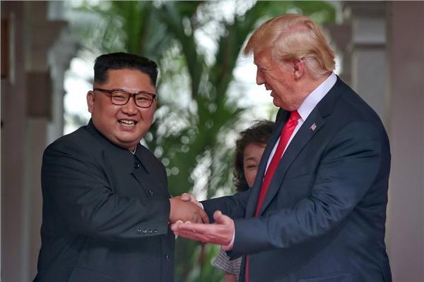 دونالد ترامب و كيم جونج أون - صورة من رويترز