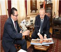 «الخشت» يلتقي سفير كازاخستان لبحث التعاون بالمجالات التعليمية