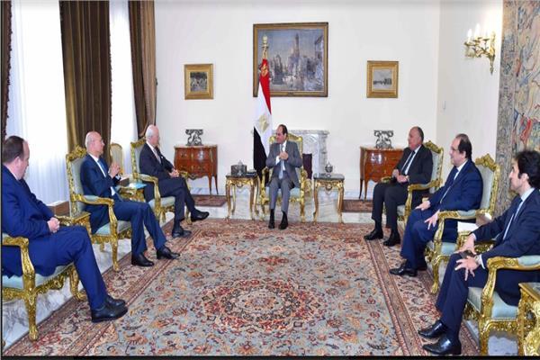 السيد الرئيس يستقبل المبعوث الخاص للأمم المتحدة لسوريا
