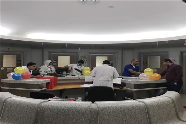 الأقسام الداخلية في مستشفى 57357