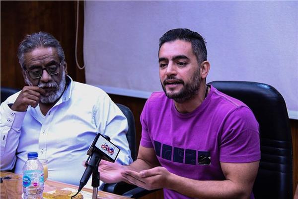 هاني سلامة في ندوة بوابة أخبار اليوم