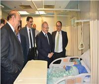 «الخشت» يفتتح المرحلة الثالثة من مستشفى طوارئ قصر العيني