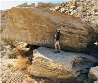 كشف أثري جديد بصحراء الكاب بإدفو