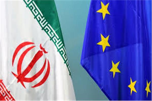 علما الاتحاد الأوروبي وإيران