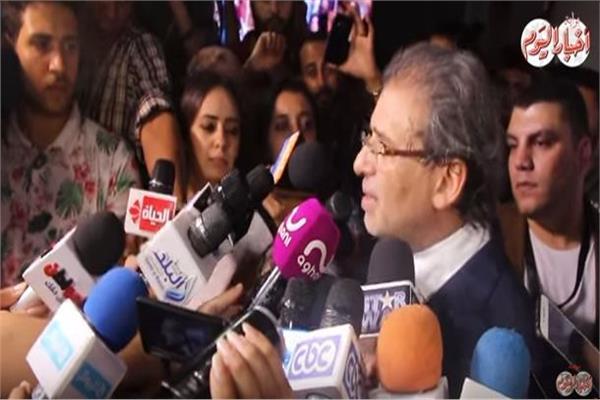 فيديو| خالد يوسف: لجأت لجهة سيادية لتنقذ فيلم «كارما»