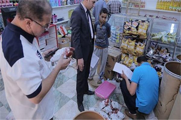 ضبط 863 قضية تموينية خلال شهر رمضان
