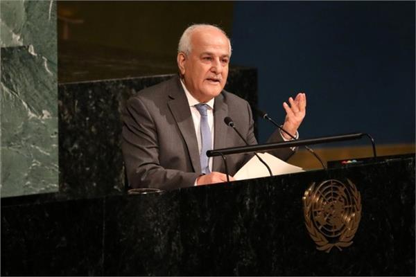 مندوب فلسطين لدى الأمم المتحدة السفير رياض منصور - صورة من رويترز