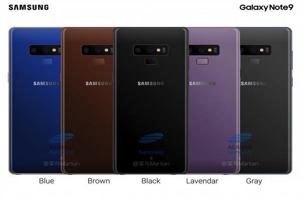 هواتف Galaxy Note 9