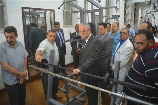 محافظ المنيا يشهد حفل توزيع جوائز ختام الدورة الرمضانية الثانية