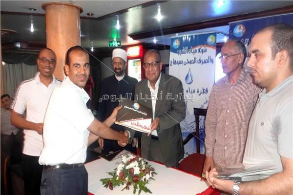 اللواء محمد بدرى اثناء الاحتفال