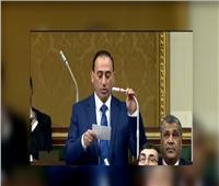 النائب محمد عبد الله زين الدين وكيل لجنة النقل والامين العام لحزب مستقبل وطن