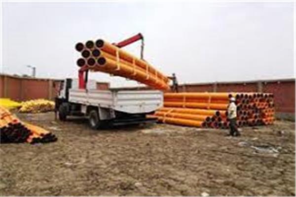 توصيل الغاز الطبيعي لمركزي مشتول السوق ومنيا القمح بالشرقية