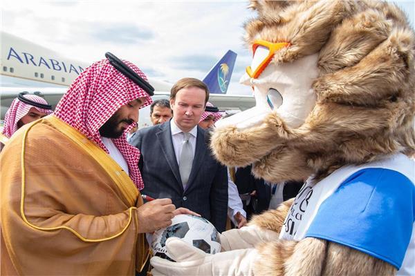 ولي العهد السعودي يصل موسكو