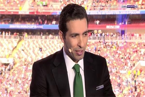 محمد أبو تريكة في ستوديو كأس العالم