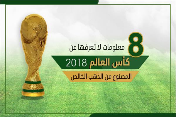 8 معلومات لا تعرفها عن كأس العالم المصنوع من الذهب الخالص