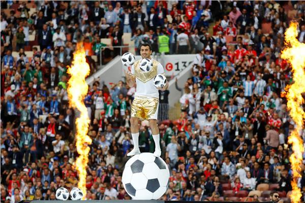من حفل افتتاح كأس العالم