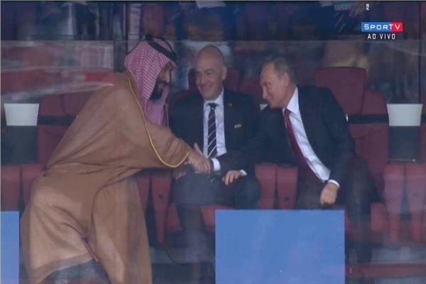 محمد بن سلمان وفلاديمير بوتين