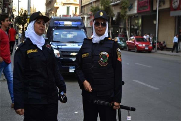 عناصر الشرطة النسائية