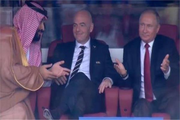 بوتين وولي العهد السعودي