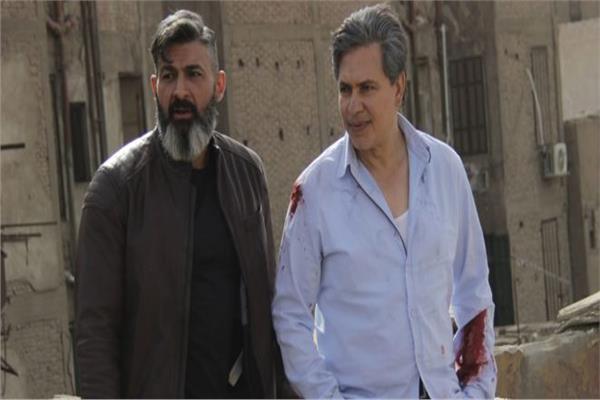 محمد رياض وياسر جلال في مسلسل رحيم