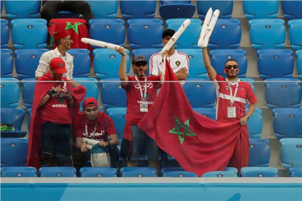 مشجعي المغرب
