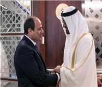 الرئيس السيسي وولي عهد أبوظبي - أرشيفية