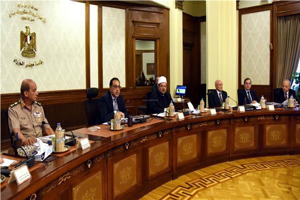 الاجتماع الأول لحكومة د. مصطفى مدبولي _ تصوير: أشرف شحاتة