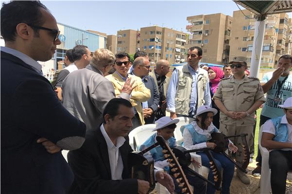 وزير الشباب يتفقد «مركز الشيخ زايد» بالإسماعيلية
