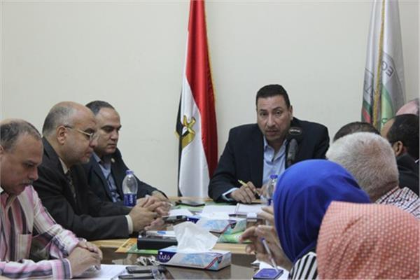 اجتماع نقابة صيادلة مصر مع النقابات الفرعية