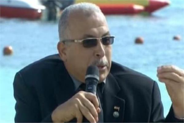 اللواء شريف فارس رئيس مجلس إدارة شركة مياه الشرب والصرف الصحي بمطروح