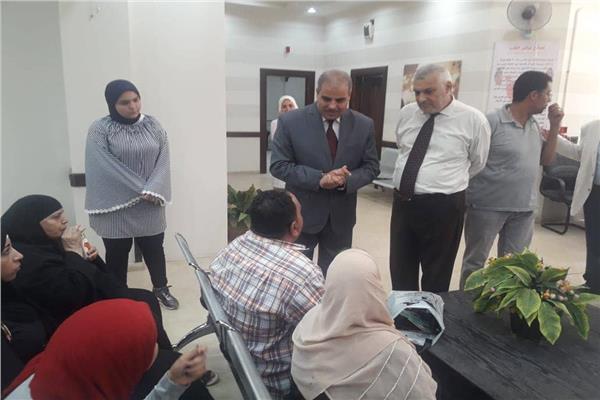 خلال جولة رئيس جامعة الأزهر