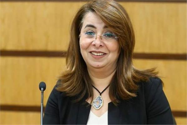 وزيرة التضامن د .غادة والي