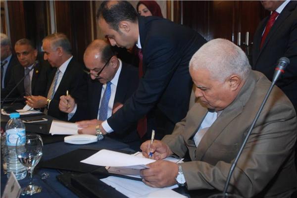 ماجد فهمي رئيس مجلس إدارة بنك التنمية الصناعية والعمال المصري